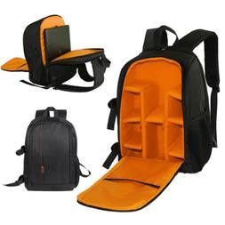 Large DSLR Waterproof Camera Backpack Bag Case DIY For Canon