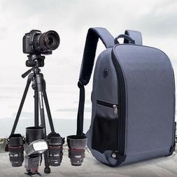 Large Travel DSLR SLR Camera Backpack Laptop Notebook Bag Ca