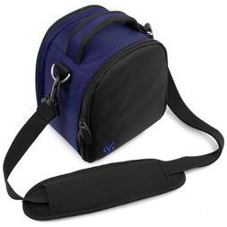 laurel navy blue carrying case