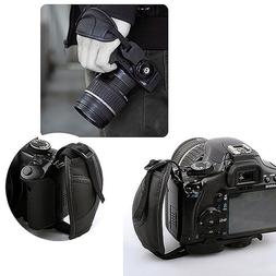 Leather Camera Wrist Strap Hand Grip for DSLR Canon Sony Pen