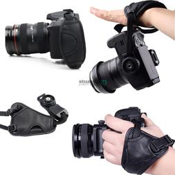 Cameras Leather Hand Grip Wrist Strap for Canon Nikon Sony P