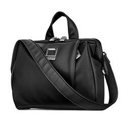 Lencca LENOliveBLK Olive DSLR Camera Case Shoulder Bag with