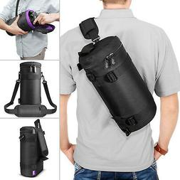 Large Camera Lens Case by Altura Photo® - Pouch Bag Fits La