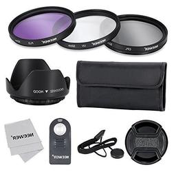 Neewer 52MM Professional Lens Filter Accessory Kit and ML-L3
