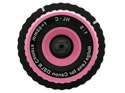 Holga Lens Pink for Canon Rebel T6 T6s T6i T5 SL1 T5i T4i T3