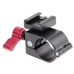 CAMVATE Light Mount Stand Bracket 25mm Rod Clamp Holder For