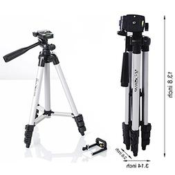 APG 40-Inch Lightweight Aluminum Portable Tripod with Bag fo