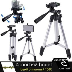 Lightweight DSLR Camera Cell Phone Tripod Monopod With 360°
