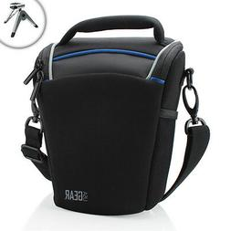 USA Gear Top Loading Travel DSLR Camera Case Bag for Nikon C