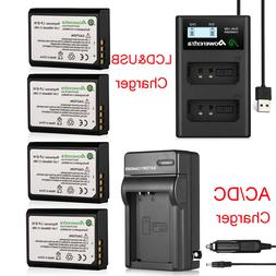 LP-E10 Battery + Charger For Canon Rebel T6 T5 T3 EOS 1100D