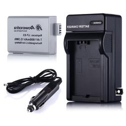 LP-E5 Battery + Charger For Canon Rebel T1i XS XSi 450D 500D