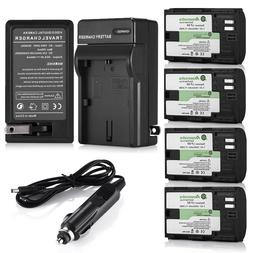 LP-E6 Battery for Canon EOS 6D 60D 7D 70D 5D Mark II III DSL