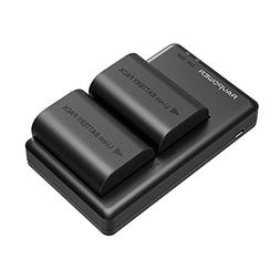 LP-E6 LP E6N Battery RAVPower Rechargeable Battery Charger S