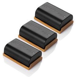 3 Pack LP-E6 Replace Battery For Canon EOS 7D 70D 6D 60D 5D