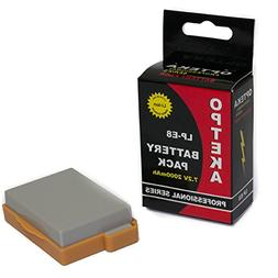 Opteka LP-E8 1750mAh Ultra High Capacity Li-ion Battery Pack