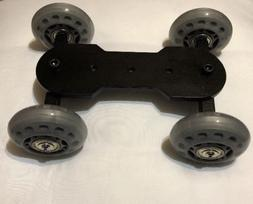 luminously camera skate dolly dslr rail car