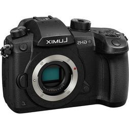 Panasonic LUMIX DC-GH5 Mirrorless MFT Digital Camera Body On