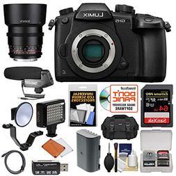 Panasonic Lumix DC-GH5 Wi-Fi 4K Digital Camera Body with 85m