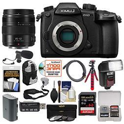 Panasonic Lumix DC-GH5 Wi-Fi 4K Digital Camera Body with 12-