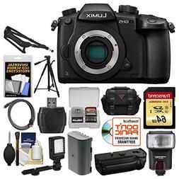 Panasonic Lumix DC-GH5 Wi-Fi 4K Digital Camera Body with 64G