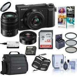 Panasonic Lumix DMC-GX85 Mirrorless Camera with 12-32 & 45-1