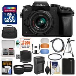 Panasonic Lumix DMC-G7 4K HD Wi-Fi Digital Camera & 14-42mm