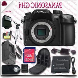 Panasonic Lumix DMC-GH4 4K Mirrorless Digital Camera  + Wire