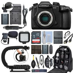 Panasonic Lumix DMC-GH5 20.3 MP 4K Digital Camera Body + 64G