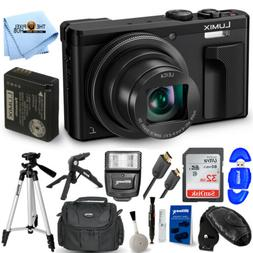 Panasonic Lumix DMC-ZS60 Digital Camera  + 32GB + Flash + Tr