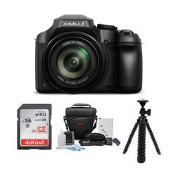 Panasonic LUMIX FZ80 4K Long Zoom Camera with 32GB Accessory