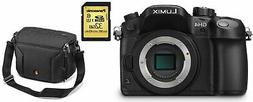 Panasonic LUMIX G Camera DMC-GH4K Bundle 16.05MP DSLR Camera