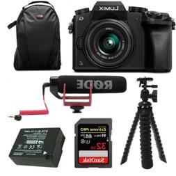 Panasonic LUMIX G7 Digital Camera with 14-42mm f/3.5-5.6 Len