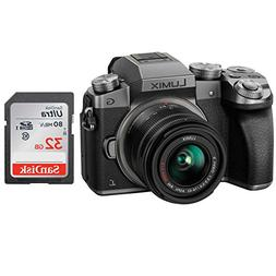 Panasonic LUMIX G7 DMC-G7KS DSLM Mirrorless 4K Camera kit wi