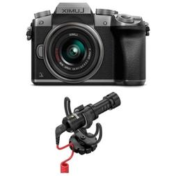 PANASONIC LUMIX G7 4K Mirrorless Camera  with Rode VideoMicr