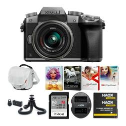 Panasonic LUMIX G7 Mirrorless Camera with 14-42mm Lens  Holi