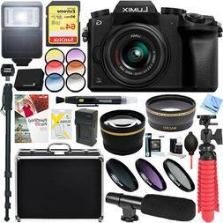Panasonic LUMIX G7 Mirrorless Digital Camera  14-42mm Lens +