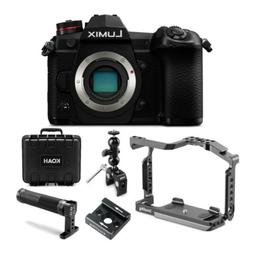 Panasonic Lumix G9 20.3MP Mirrorless Camera  Cage Bundle