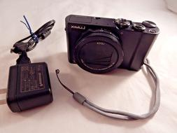 Panasonic LUMIX LX10 20.1MP Digital Camera - Black  #S739