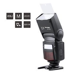 Photoolex M500 Flash Speedlite for Canon Nikon Sony Panasoni