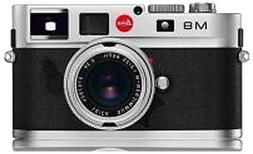 Leica M8 10.3MP Digital Rangefinder Camera with .68x Viewfin