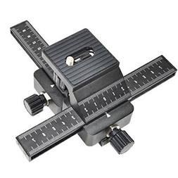Inseesi 4 Way Macro Focusing Rail Slider with Standard 1/4""