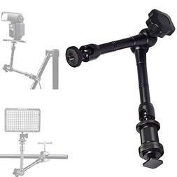"11"" Magic Arm, Magic Articulating Friction Arm Tripod Arm wi"
