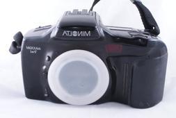 Minolta Maxxum / Dynax 7xi AF SLR camera body.