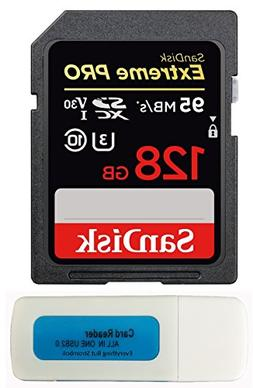 SanDisk 128GB Extreme Pro Memory Card works with Canon EOS R