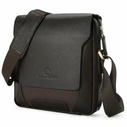 Koolertron Men Genuine Leather Shoulder Bag Handbags Briefca