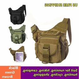 Men's Tactical Military Messenger Shoulder SLR Camera Bag Da