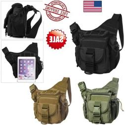 Men's Tactical Military Shoulder SLR Camera Bag Hiking Campi