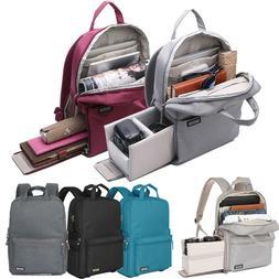 Men Women DSLR SLR Camera Bag Lens Padded Bag Travel Bag Bac