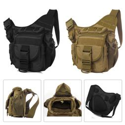 Mens Tactical Military Messenger Shoulder SLR Camera Bag Pac