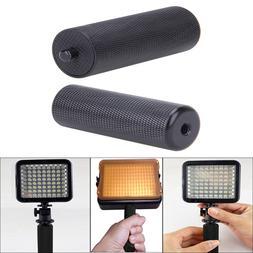Metal Handle Hand Grip DSLR SLR Camera Stabilizer for LED Fl